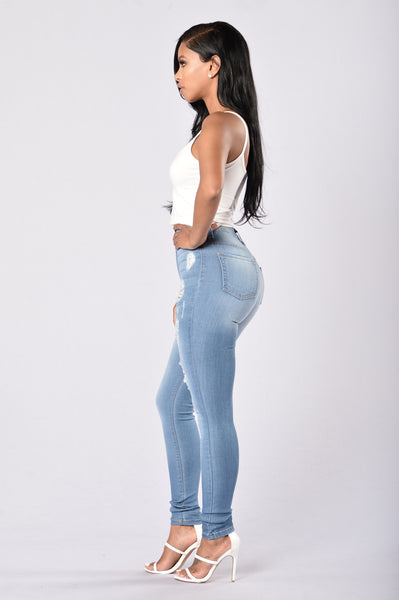 Gigi Jeans - Medium Blue
