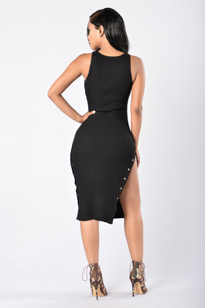 Perfect Date Dress - Black
