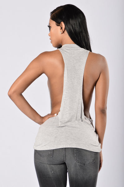 The Gun Show Tank Top - Heather Grey