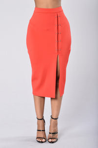 Hottie Skirt - Red