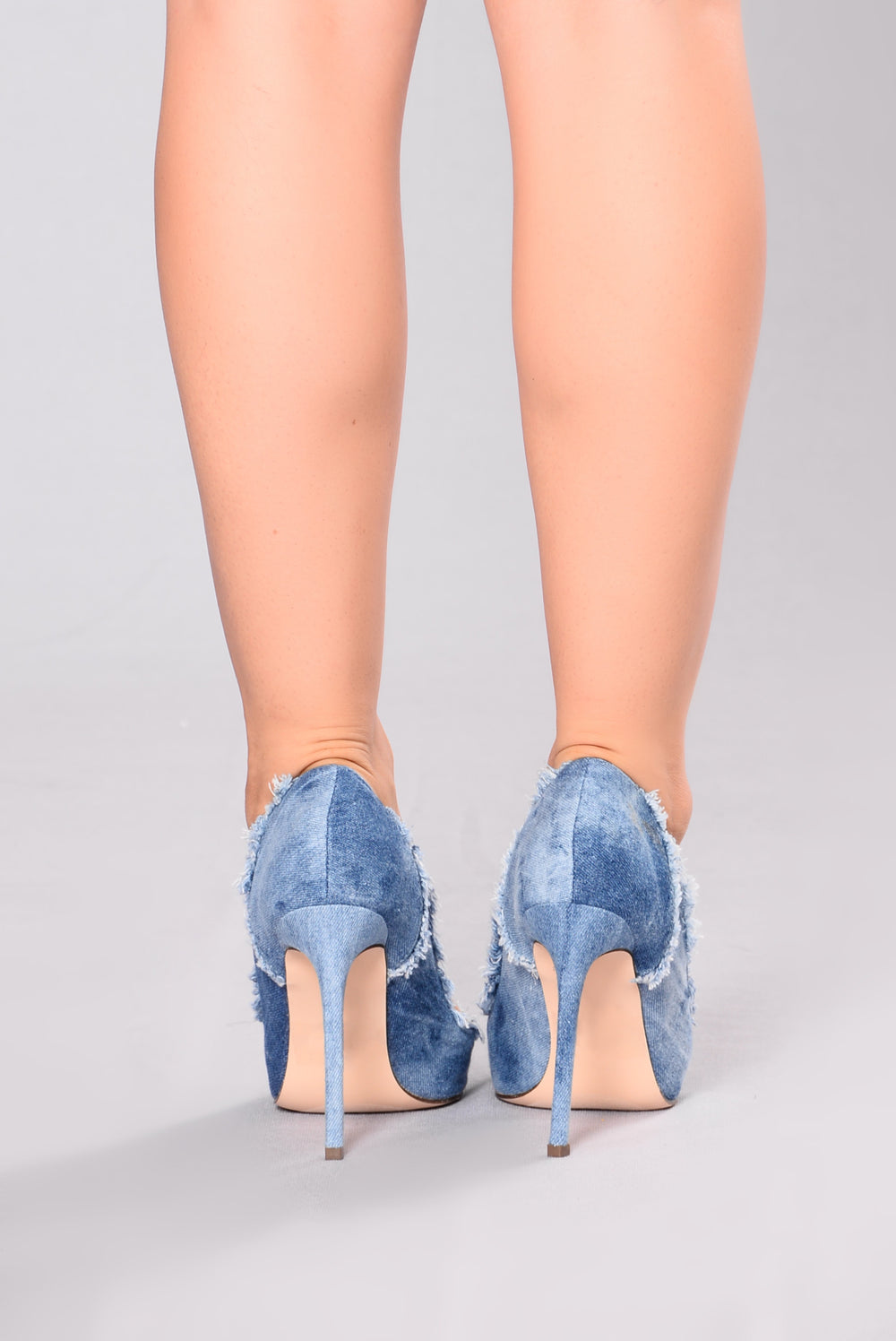 Chiara Denim Pump - Denim