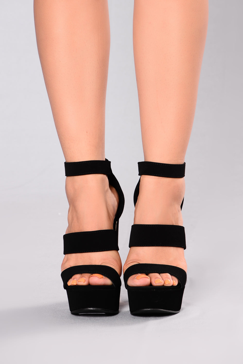 Berenice Block Heel - Black