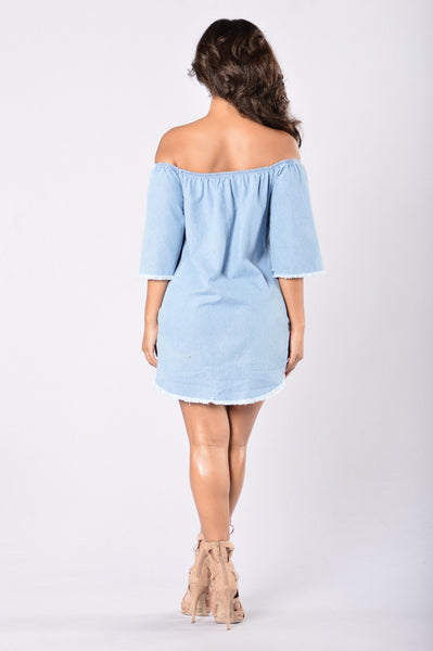 Denim Dream Dress - Light