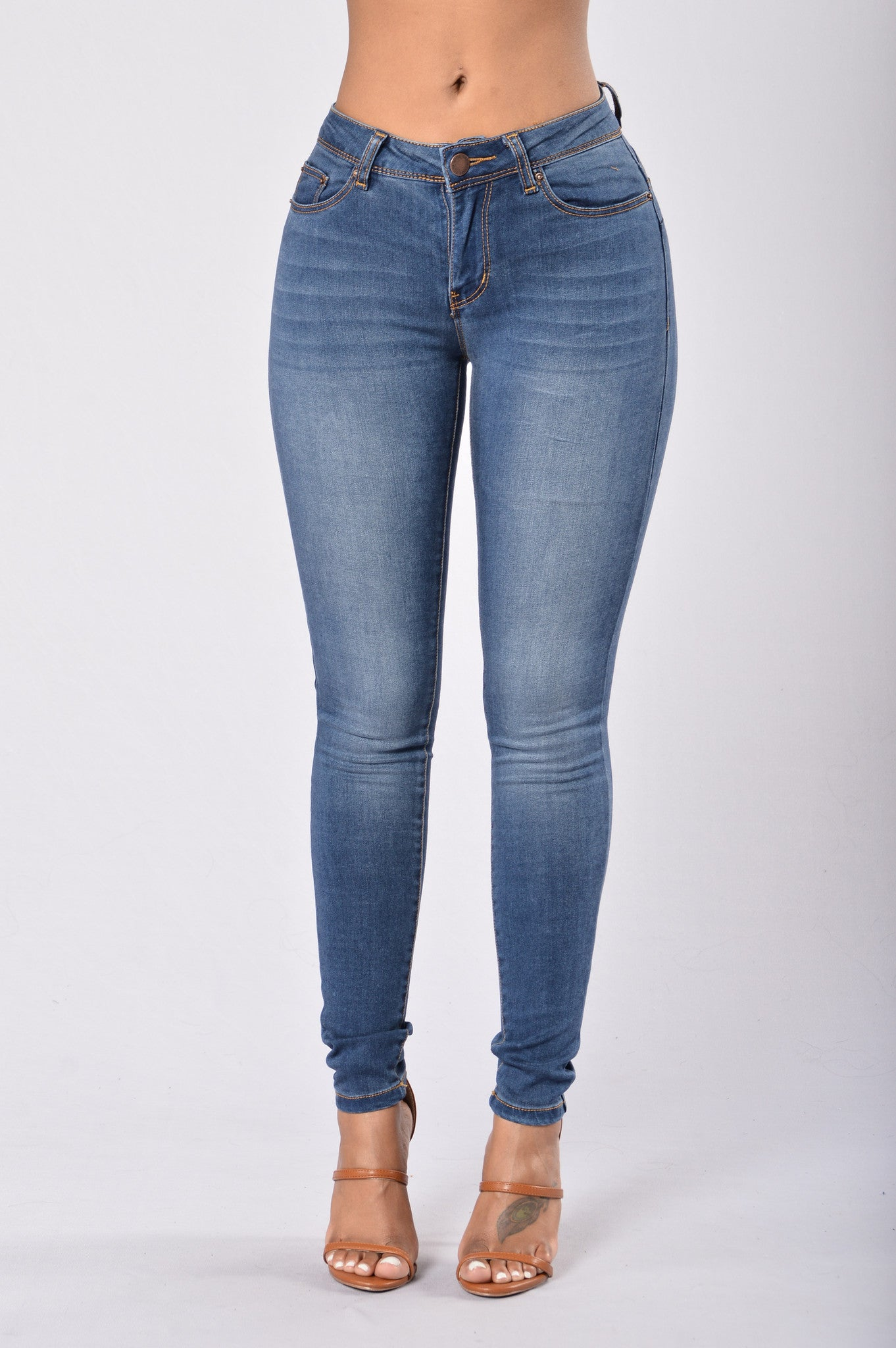 a4fd36c3da0 Miss New Booty Shaping Denim - Medium Blue