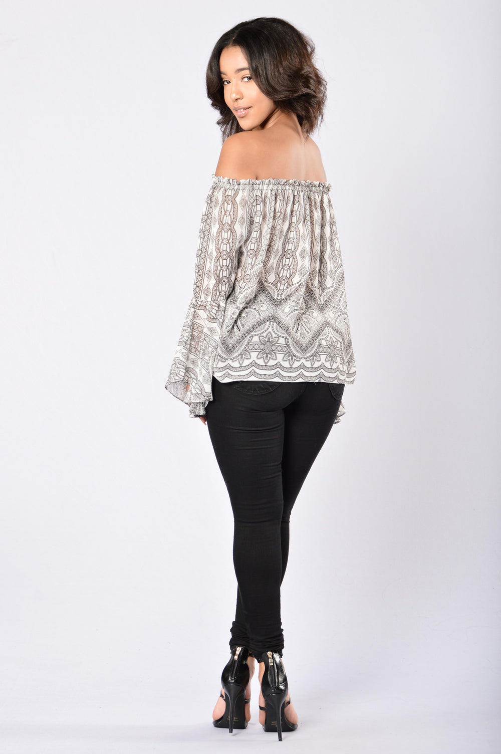 Link by Link Top - White