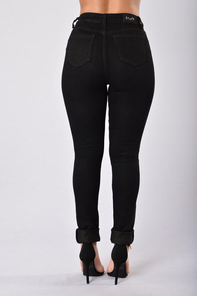 Shred It up Jeans - Black