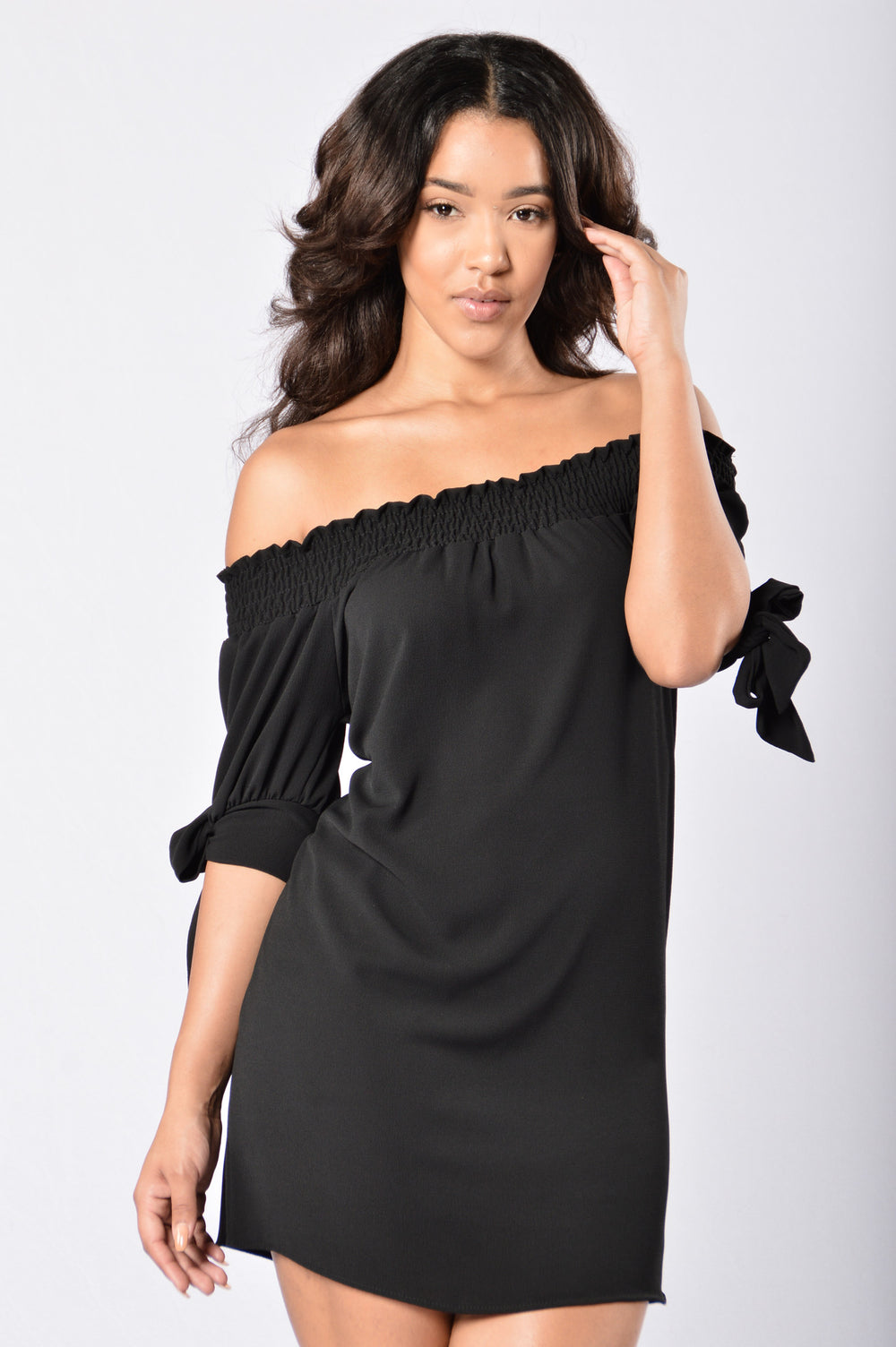 Room for Happiness Dress - Black