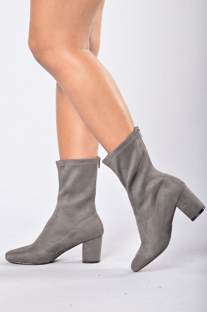 New Girl Heel - Grey