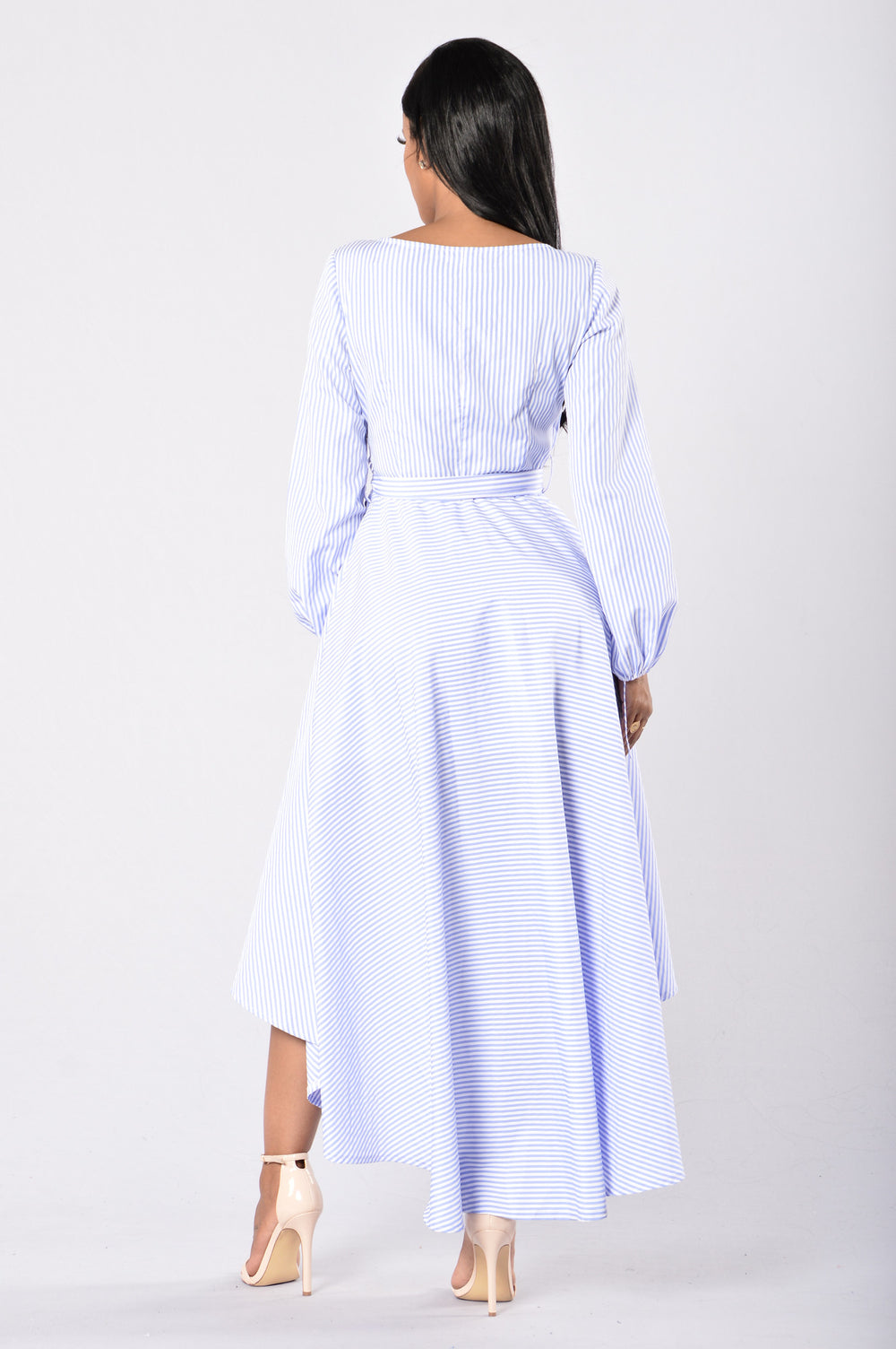 Sing a Pretty Song Dress - Blue