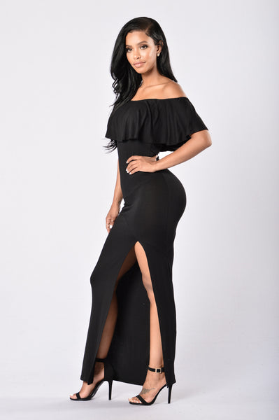 Senorita Dress - Black
