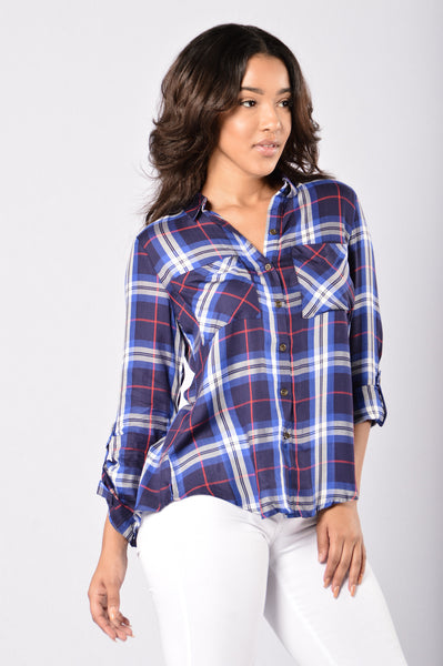 Work With It Top - Royal