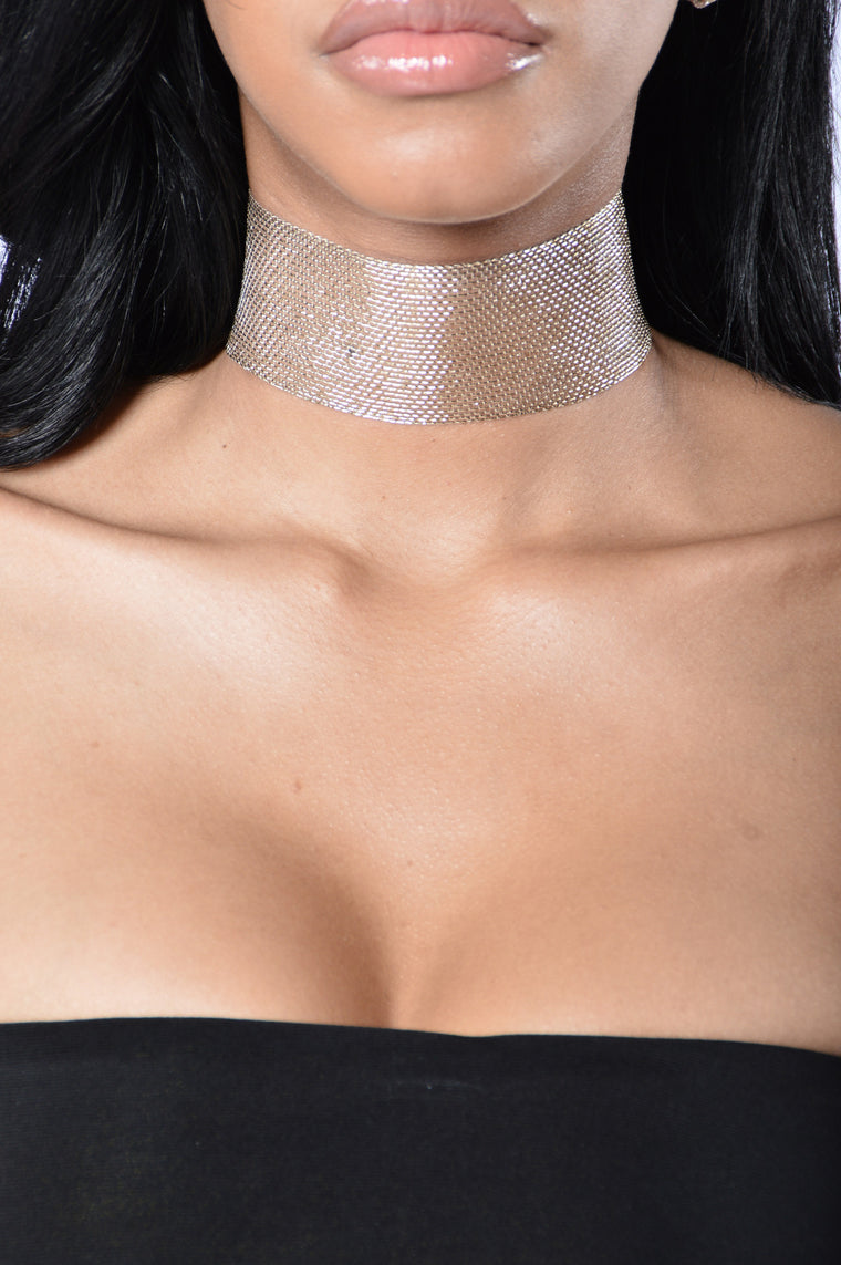Always Shine Choker - Gold