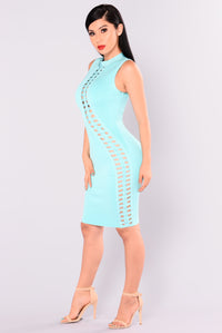 Party Monster Bandage Dress - Jade