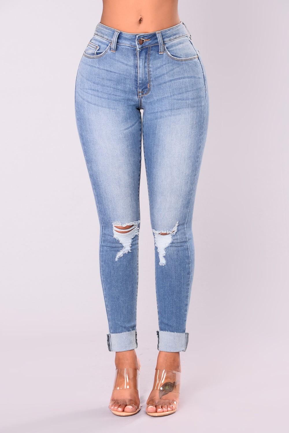 Sing The Blues Jeans - Medium Blue