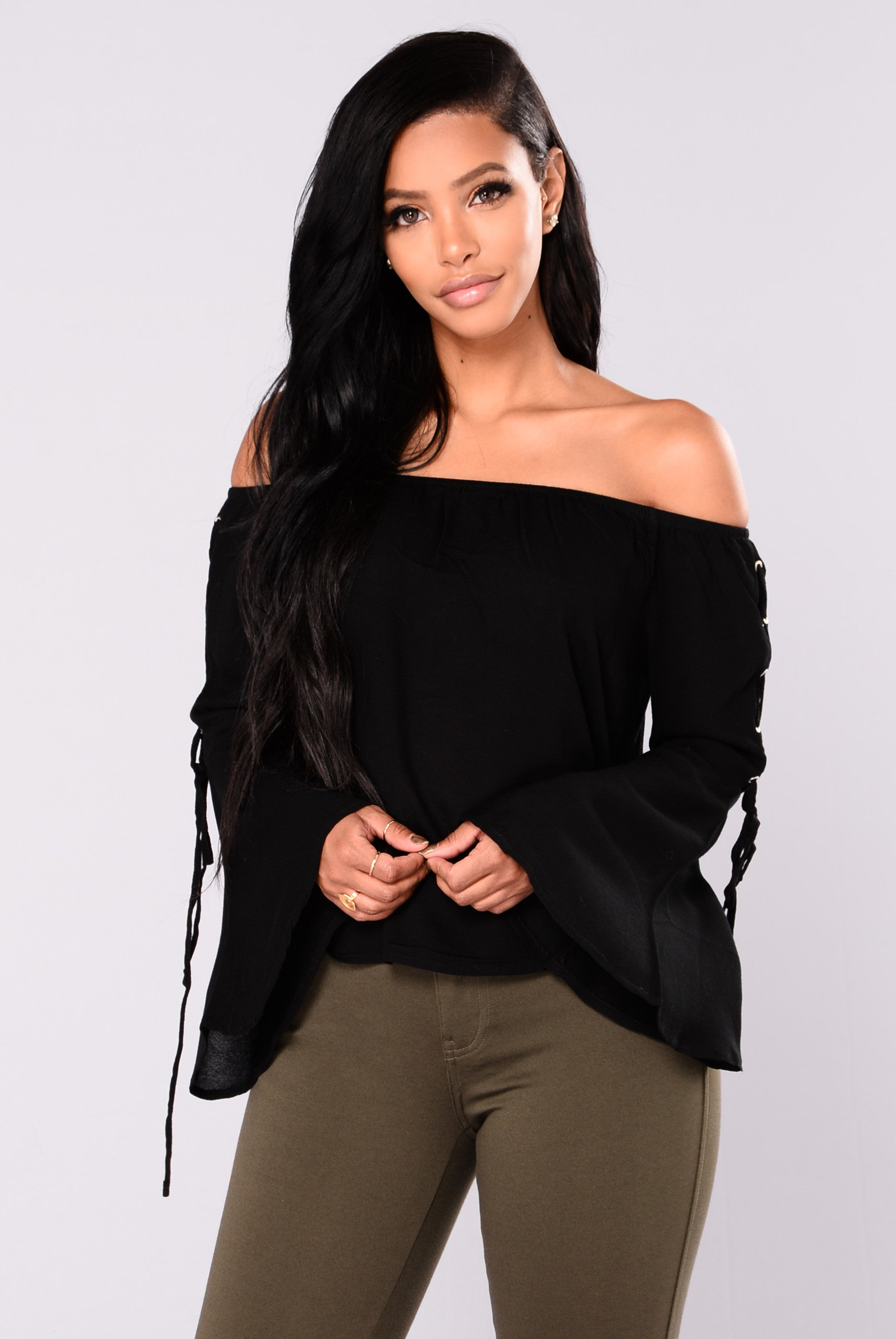 4d4da5edfa26 Going On Vacation Off Shoulder Top - Black