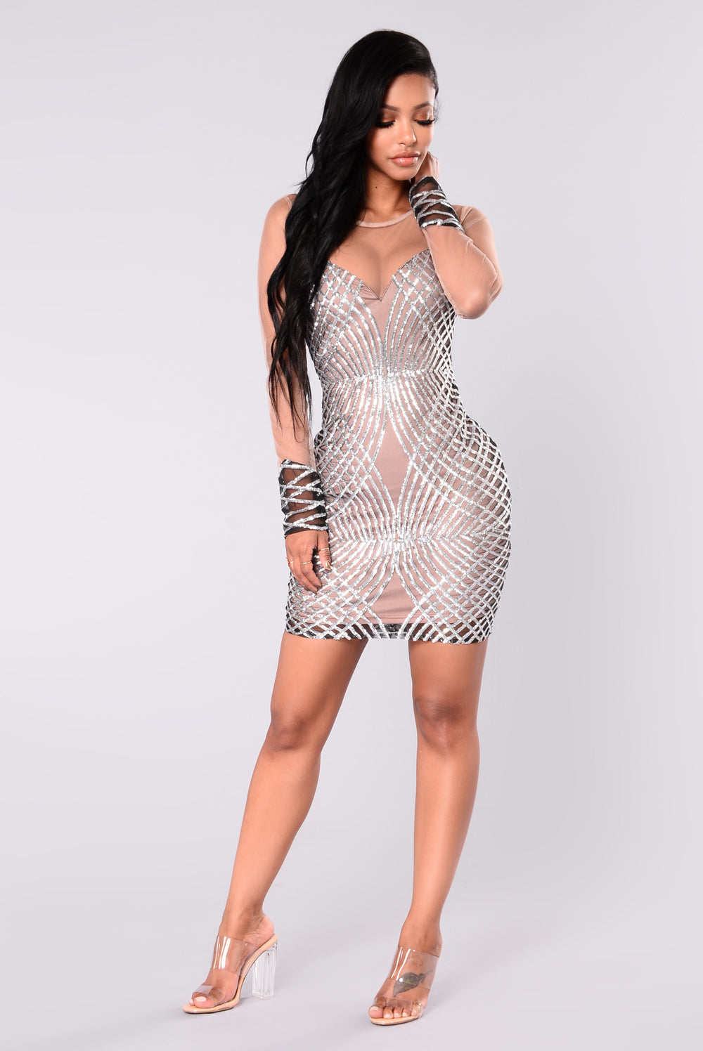 Flux Sequin Dress