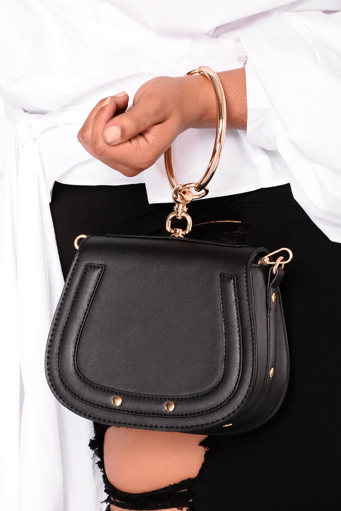 Shalana Cross Body Bag - Black