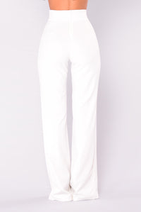 Unforgettable Wide Leg Pants - White