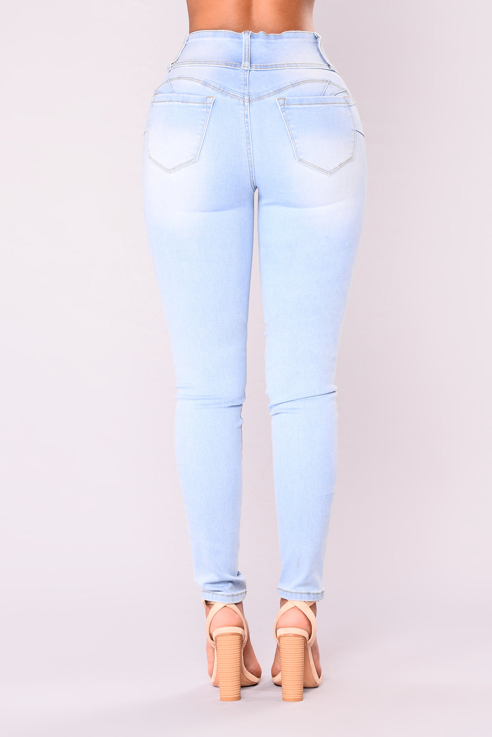 Glow With The Flow Booty Shaping Jeans - Light