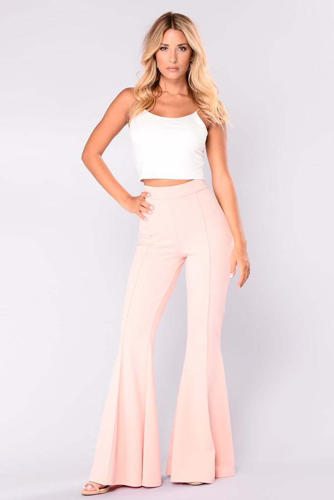 Letty Flare Pants - Blush