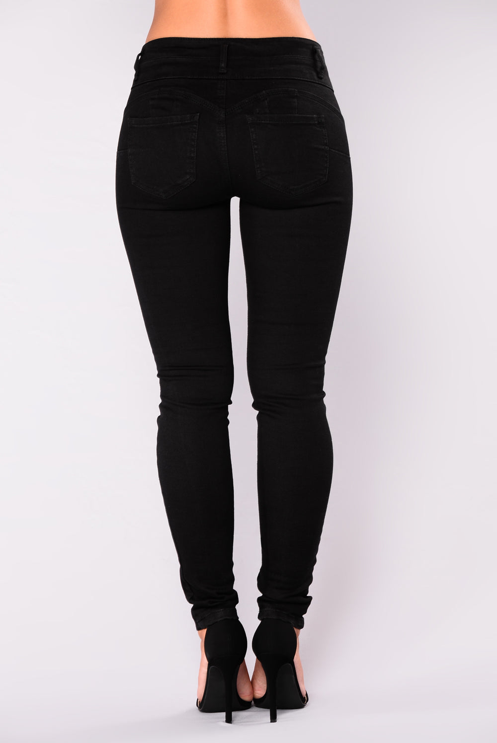 Body Right Booty Shaping Jeans - Black