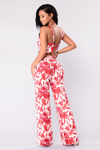 Vacay Tropical Set - Red