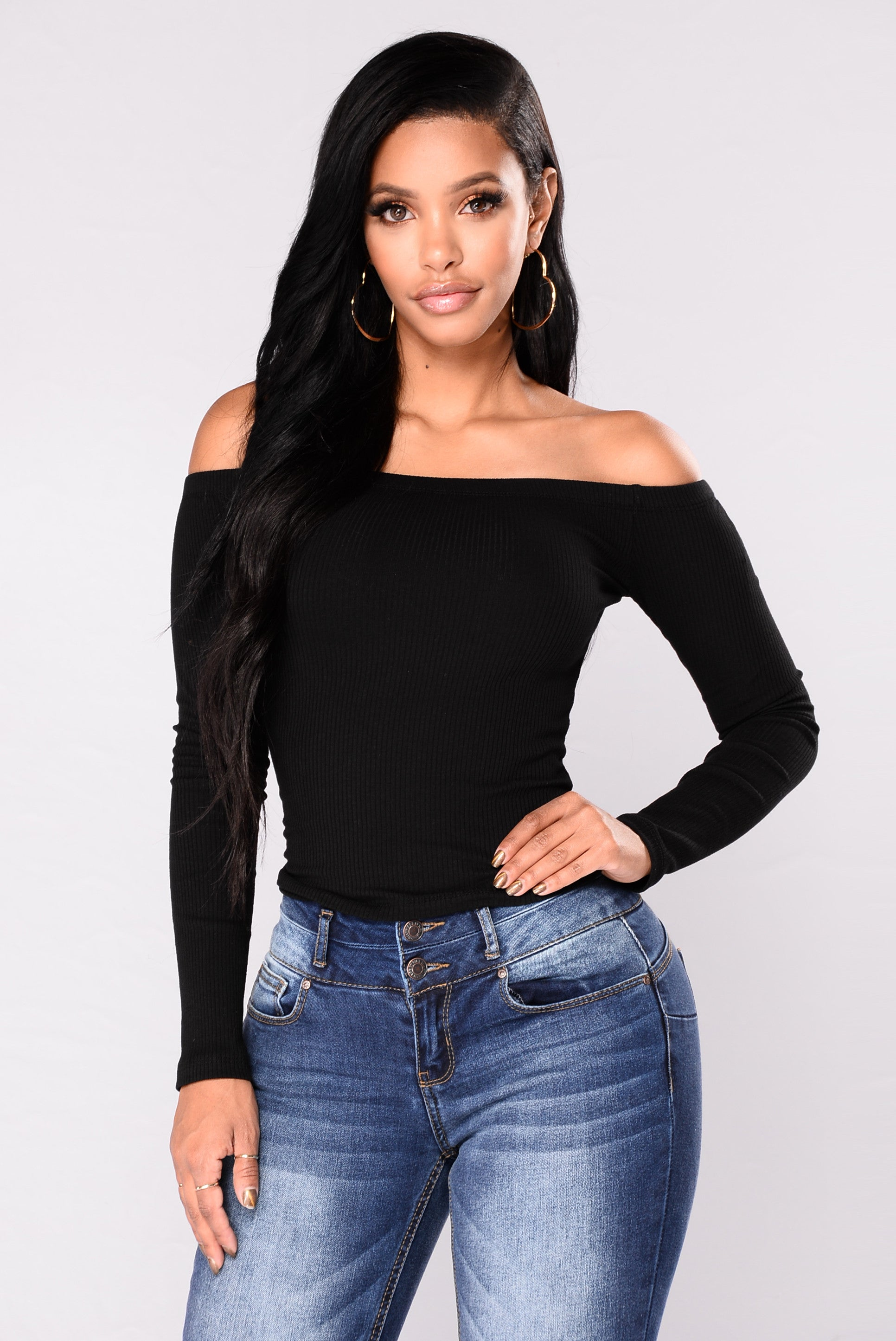 Overdrive Off Shoulder Top