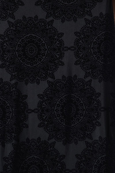 Mandala Dress - Black