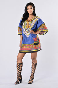 Dashiki - Royal Angle 1