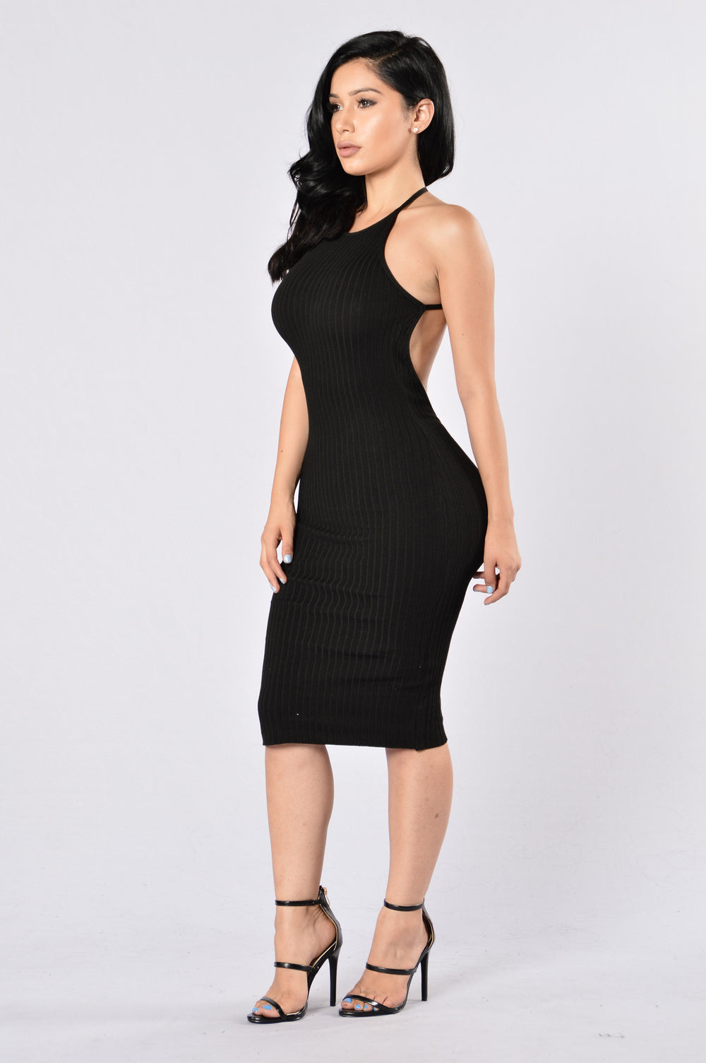 Turn Around Dress - Black