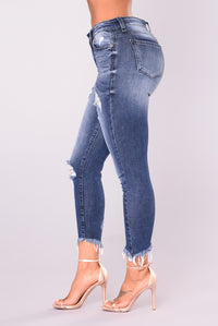 Ivana Skinny Jeans - Medium Denim