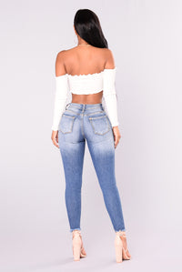 Oriana Skinny Jeans - Medium Denim