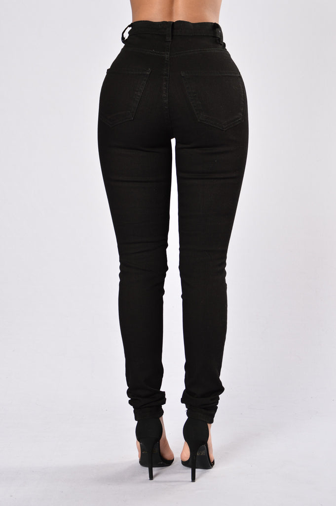 Roll Out Jeans - Black