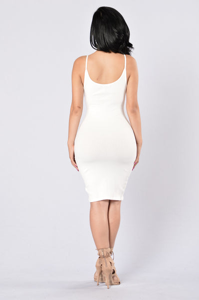 Ginger Dress - Ivory