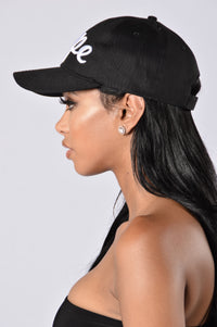 Dope Like Me Hat - Black