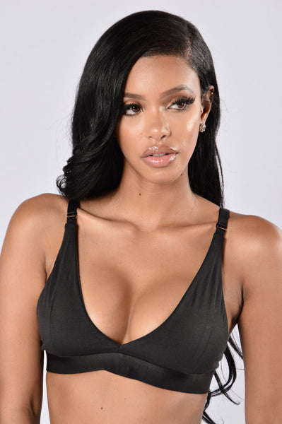 Sporty Spice Bra - Black