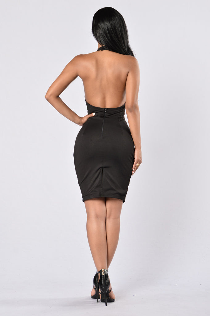 Living In Sin Dress - Black