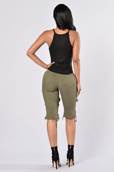 All Me Bermuda Shorts - Olive