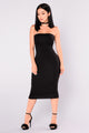 Mira Tube Dress - Black