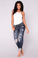 Flawless Day Jeans - Dark Denim