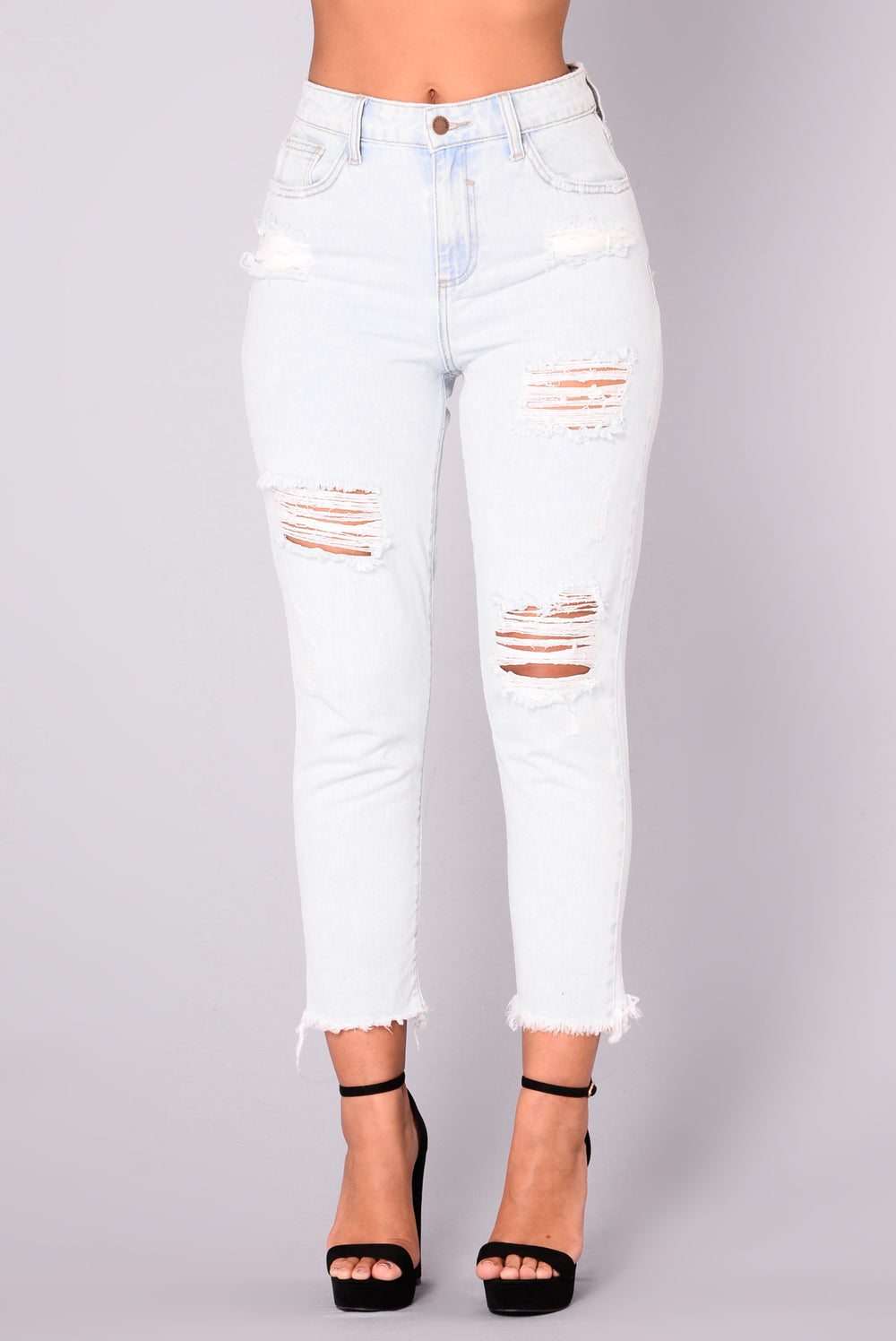 Appleton Boyfriend Jeans - Acid Light Wash