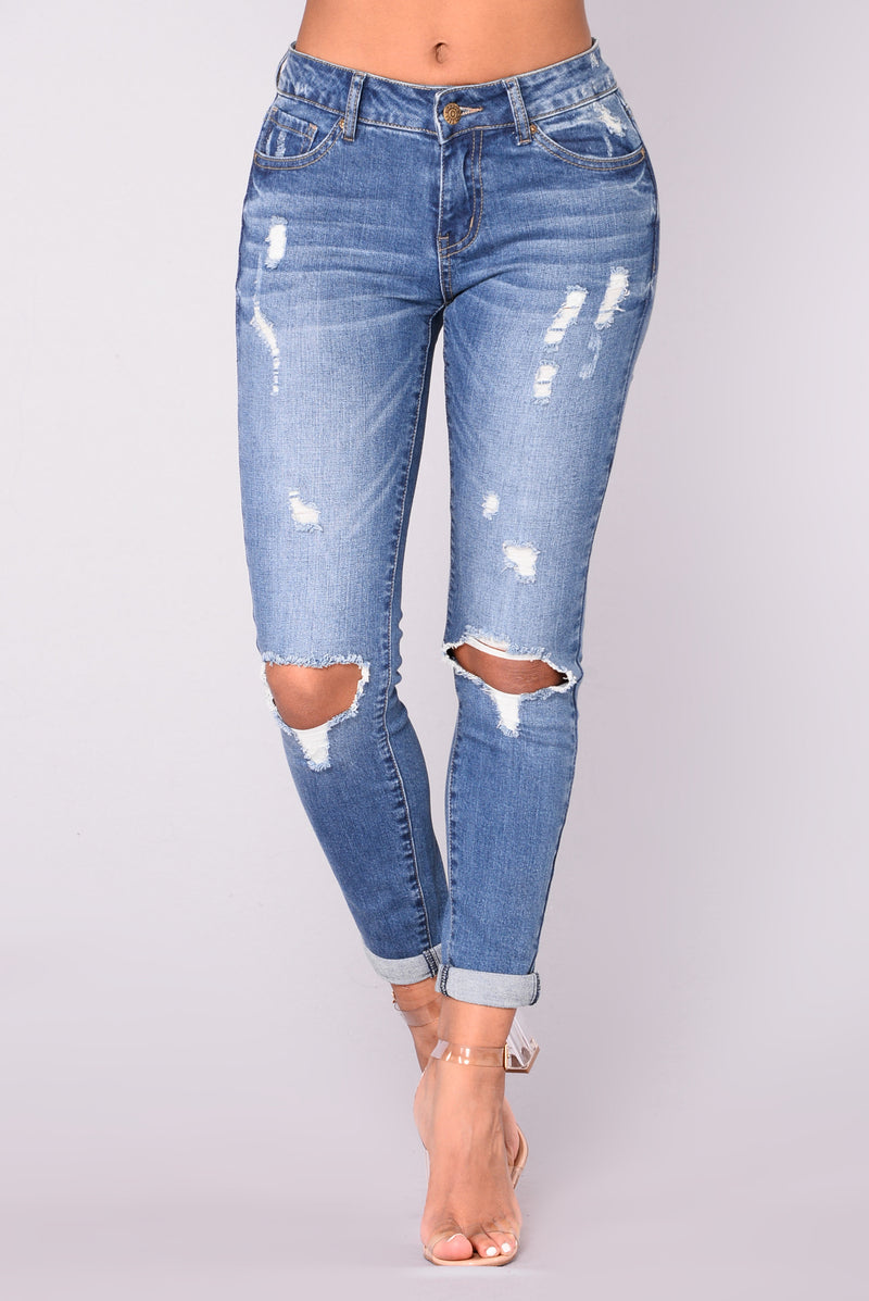 Better With Time Skinny Jeans - Medium Denim
