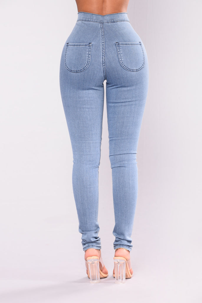 Squat Up Jeans - Light