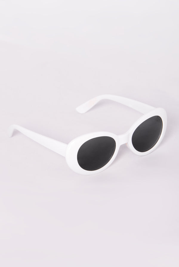 5e212515aa6 Posh Sunglasses - White Smoke