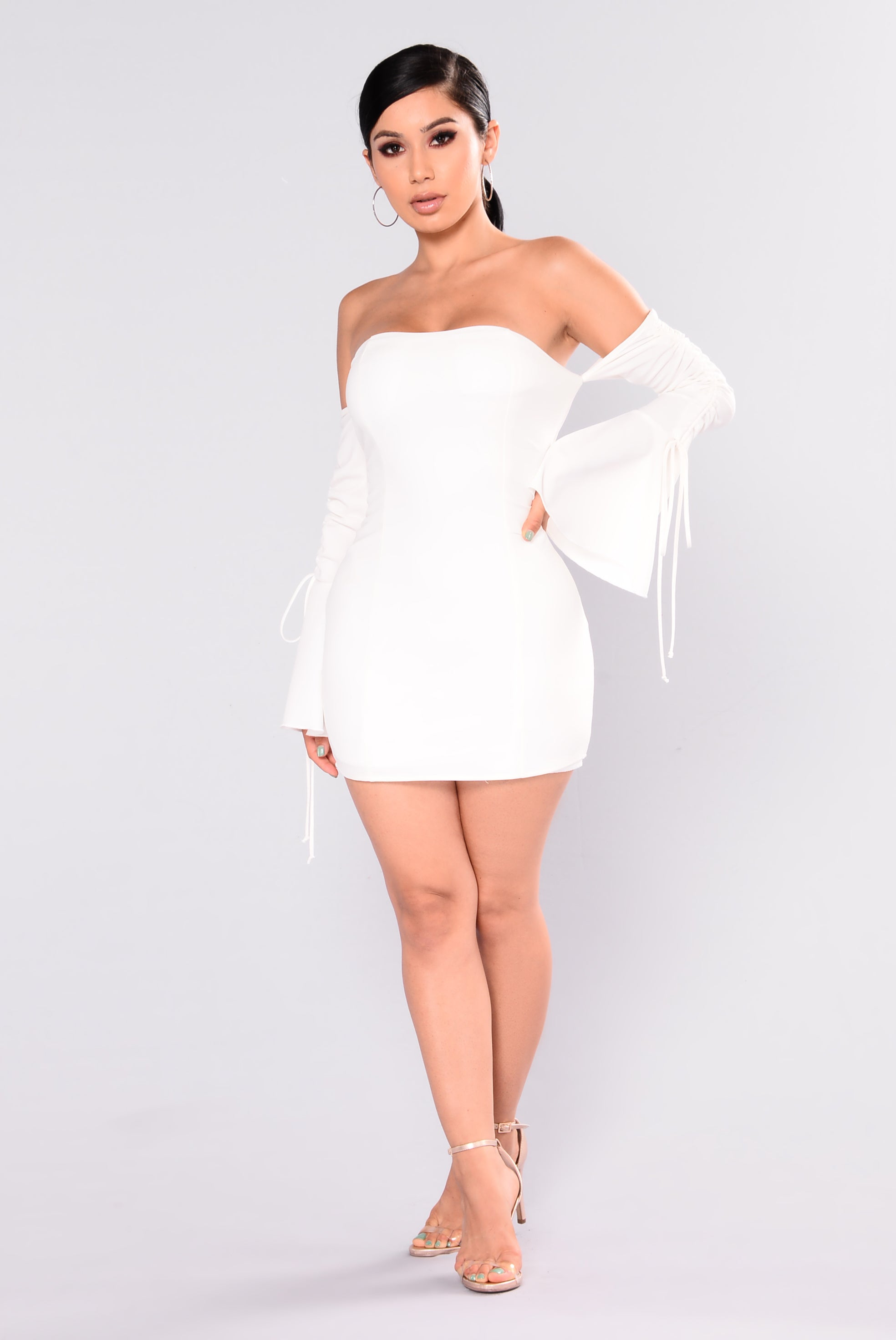 kannes off shoulder dress