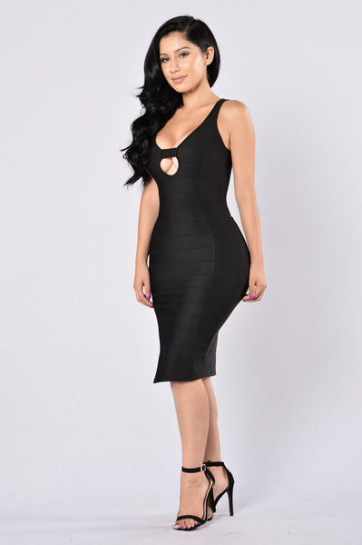 Always Hot Dress - Black