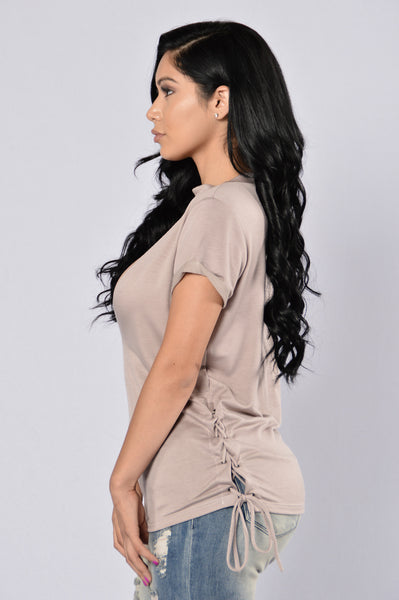 Always Neutral Top - Mocha