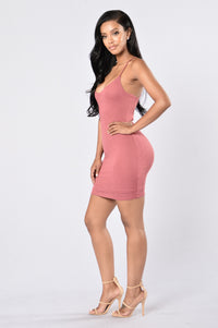 Think Of Me Dress - Mauve