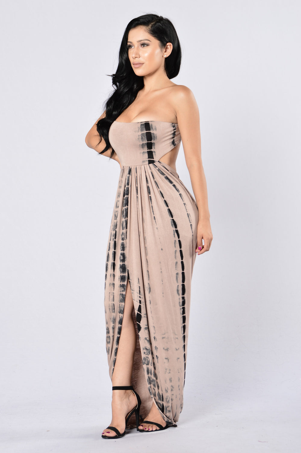 Bae Breeze Dress - Taupe