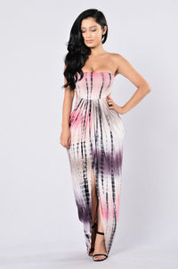 Bae Breeze Dress - Pink Multi